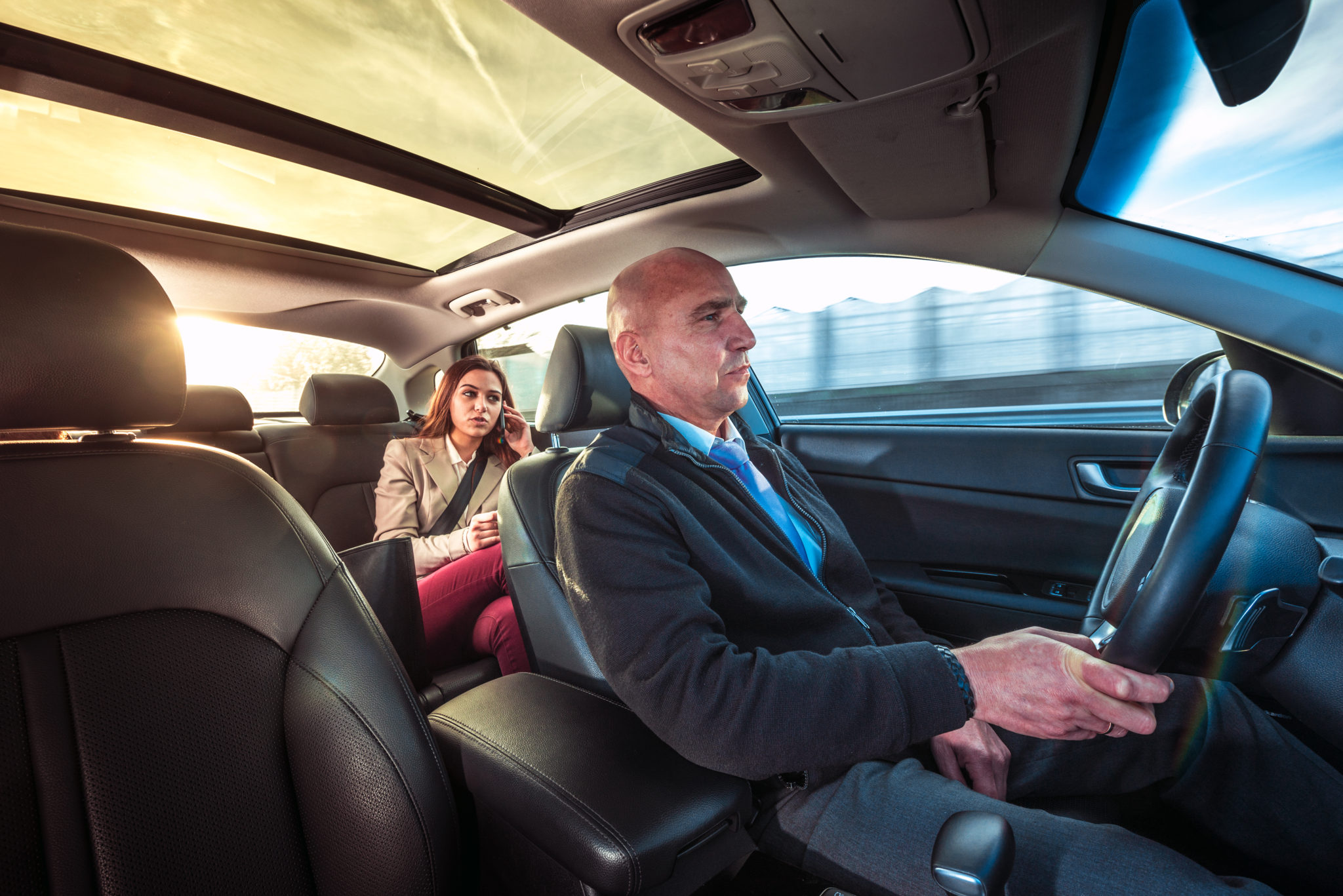 Distracted Driving Awareness Month: Guaranteed Safety With A Professional Car Service