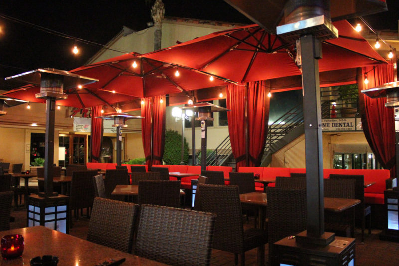 Ask a car service find l a 39 s most romantic restaurants for Terrace bar menu