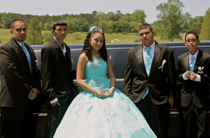 Limo For Quinceañera
